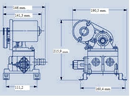 Pompa 12 v autoclave jabsco for Autoclave funzionamento schema
