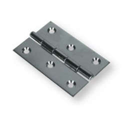 Cerniera in acciaio inox Aisi 304 100x100 mm.