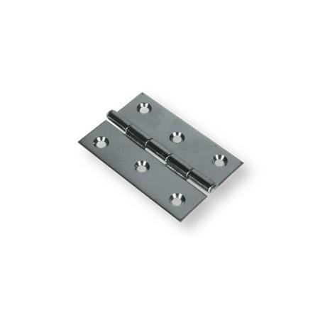 Cerniera in acciaio inox Aisi 304 80x50mm.