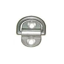 Mezzo anello snodato inox Aisi 304 51 mm.