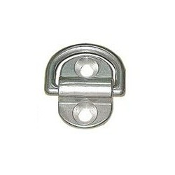 Mezzo anello snodato inox Aisi 304 68 mm.