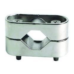 Morsetto per pulpiti tubo Ø 20/22/25 mm in acciaio inox Aisi 316