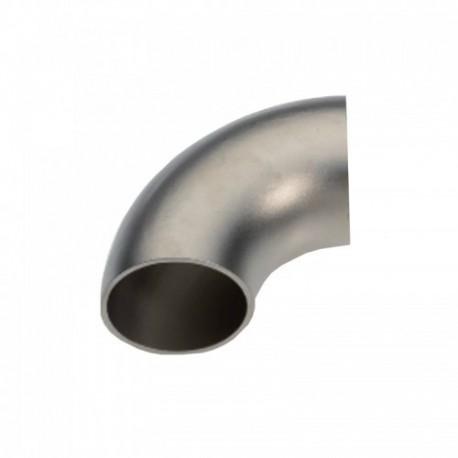 Curva acciaio inox AISI 304 76,1 x 2 mm.