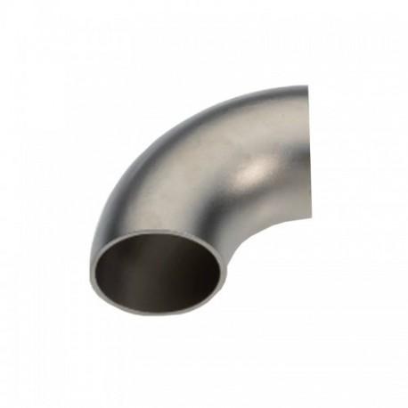 Curva acciaio inox AISI 304 21,3 x 1,5 mm.