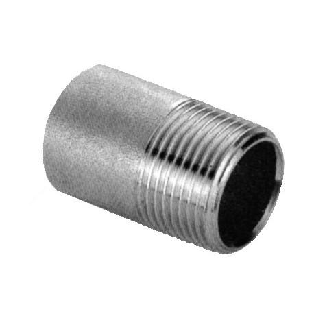 """Tronchetto da 1/2"""" acciaio inox AISI 304"""