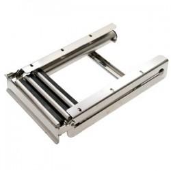 Scaletta acciaio inox scomponibile 3 gradini