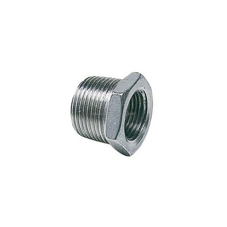 """Riduzione maschio femmina 1/2""""-3/8"""" acciaio inox AISI 316"""