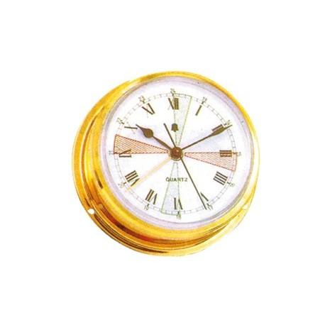 Orologio Ottone Lucido 98 x 115 mm.
