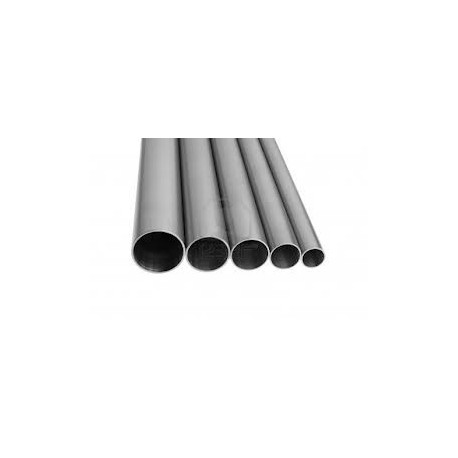 Tubo sezione tonda inox AISI 316 Ø 15x1 mm.