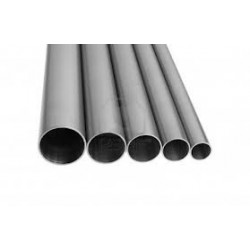 Tubo sezione tonda inox AISI 316 lucido Ø 30x1,5 mm.