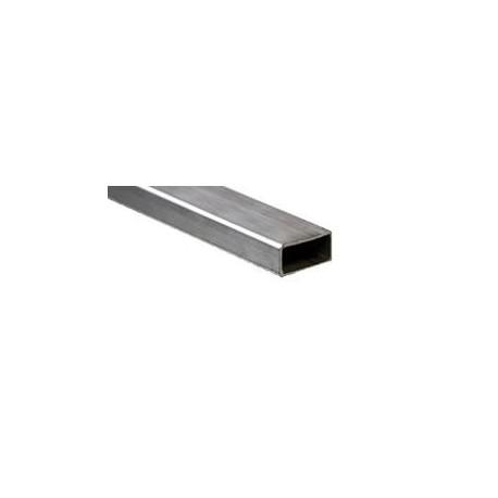 Tubo sezione rettangolare inox AISI 316 40x20x1,5 mm.