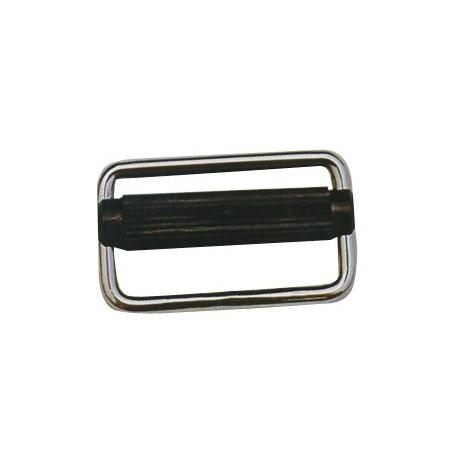 Fibbia in acciaio inox autoblocc. mm. 40