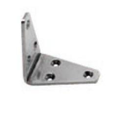 Lastrina acciaio inox AISI 304 80x80x4 mm.