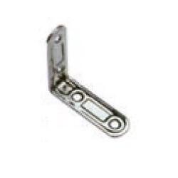 Lastrina acciaio stampato inox AISI 304 70x70x2,3 mm.