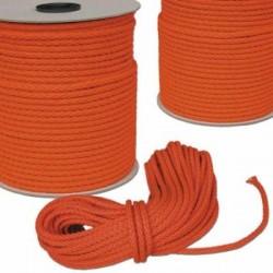 Treccia Levilene 8 mm. arancio