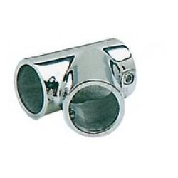 Tee inclinato 60º  30 mm. Acciaio Inox AISI 316