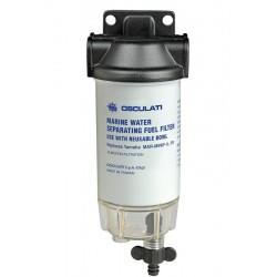 Filtro benzina con separatore acqua