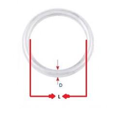 Anello Tondo mm. 8 x 50 Inox AISI 304