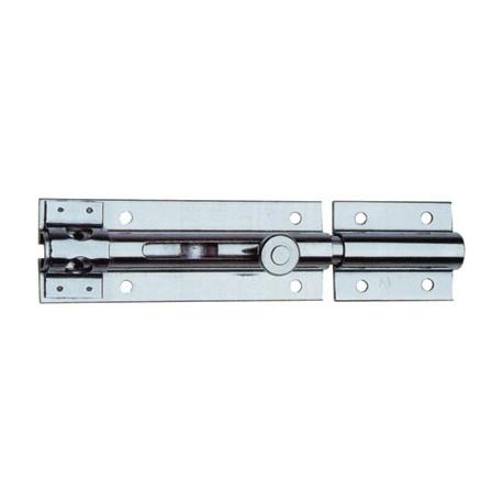 Catenaccio 170 mm acciaio inox e portalucchetto