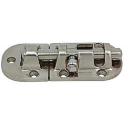 Catenaccio 90 x 38 mm acciaio inox AISI 316