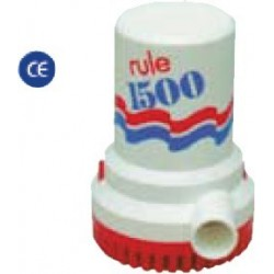 Pompa 24 V. ad immersione RULE 1500