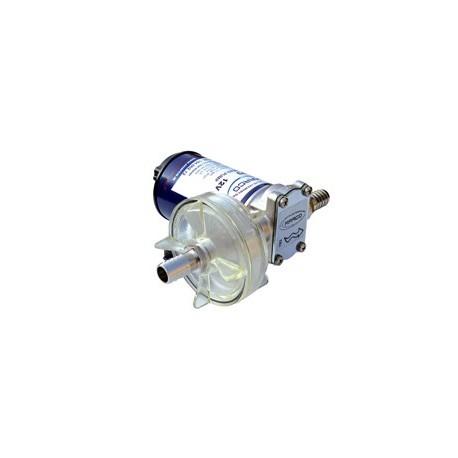 Pompa 12 V. ad ingranaggi per gasolio o liquidi non infiammabili