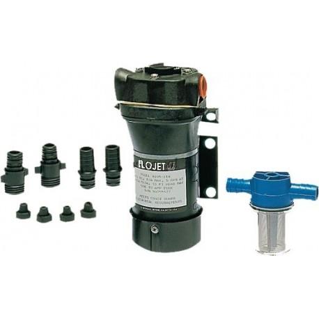 Pompa 12 V. Flojet ad ingranaggi per carburante