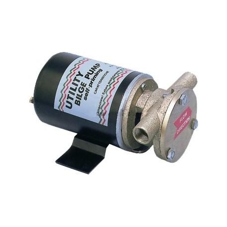Pompa 12 V. a girante in gomma per acqua