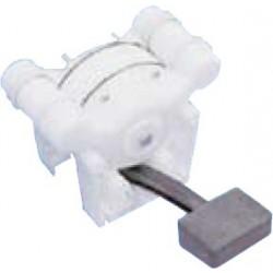 Pompa a piede a doppio effetto per lavelli e docce