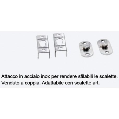 Attacco scaletta Acciaio Inox AISI 316
