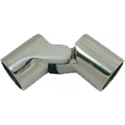 Snodo esterno 90º inox 316 femmina per tubo  Ø 25 mm. inox AISI 316