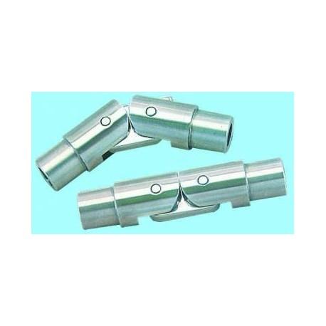 Snodo interno 90º inox 316 maschio per tubo Ø 30 mm. inox AISI