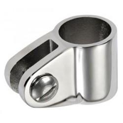 Snodo a forcella per tubo Ø 22 mm. inox AISI 316