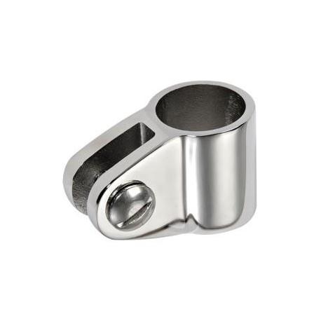 Snodo a forcella per tubo Ø 30 mm. inox AISI 316