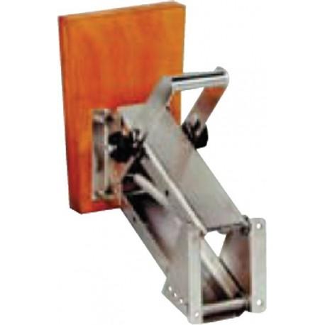 Supporto motore con molla in acciao inox per motori fino a 25 HP.