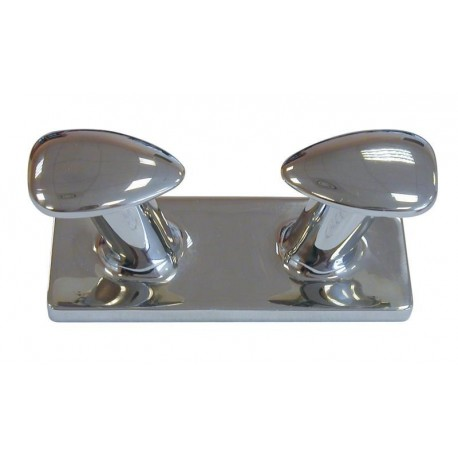 Bitta in acciaio inox lucidato a specchio, 252 mm.