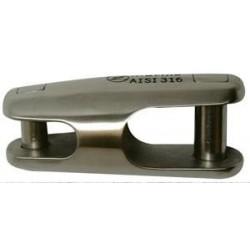 Giunto fisso acciaio inox AISI 316 per catene Ø 6-8 mm