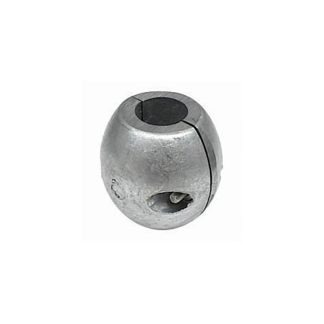 Zinco bracciale per asse elica Ø 25 mm.