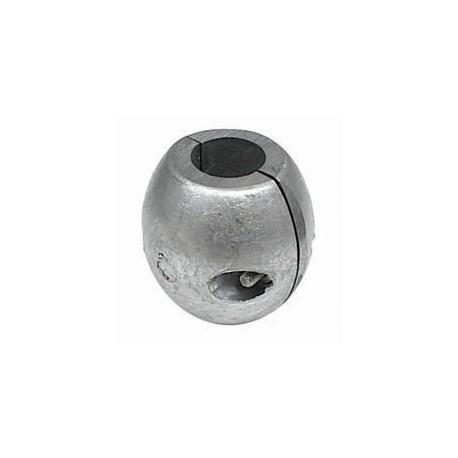 Zinco bracciale per asse Ø 31,8 mm.