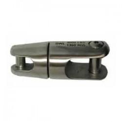 Giunto girevole Kong acciaio inox AISI 316 per catena Ø 8-10-12 mm.
