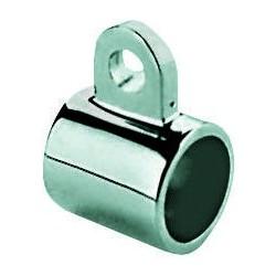 Manicotto per tubo 22 mm. Acciaio Inox AISI 316