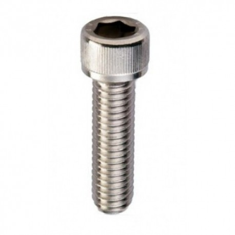 Vite brugola testa cilindrica esagono incassato M6 UNI 5931 acciaio inox AISI 316