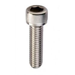 Vite brugola  testa cilindrica esagono incassato M3 UNI 5931 acciaio inox AISI 316